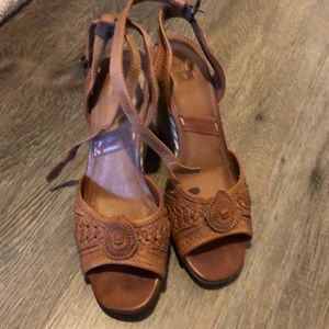 Frye wedge sandal